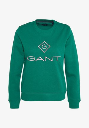 COLOR LOCK UP CNECK  - Sweatshirt - green