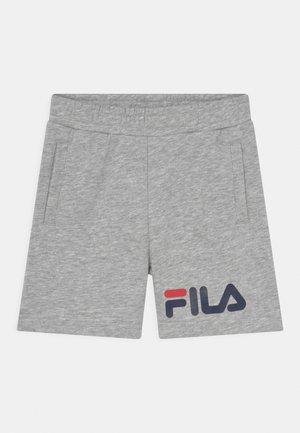 ZOE BASIC UNISEX - Shorts - light grey melange