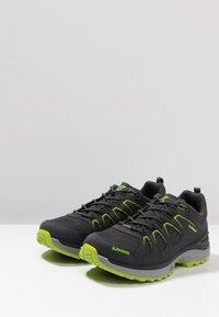 Lowa - INNOX EVO GTX - Hiking shoes - anthrazit/limone - 2