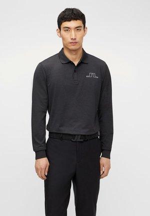 BRIDGE REG FIT GOLF - Polo shirt - black melange