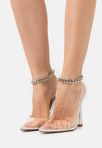 BEBO - RIDHAM - Classic heels - clear - 0