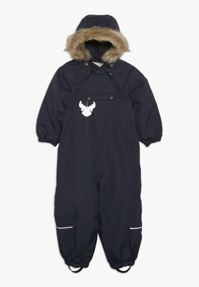 SNOWSUIT NICKIE BABY - Kombinezon zimowy - navy