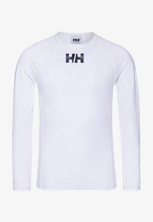 WATERWEAR RASHGUARD - Langarmshirt - white