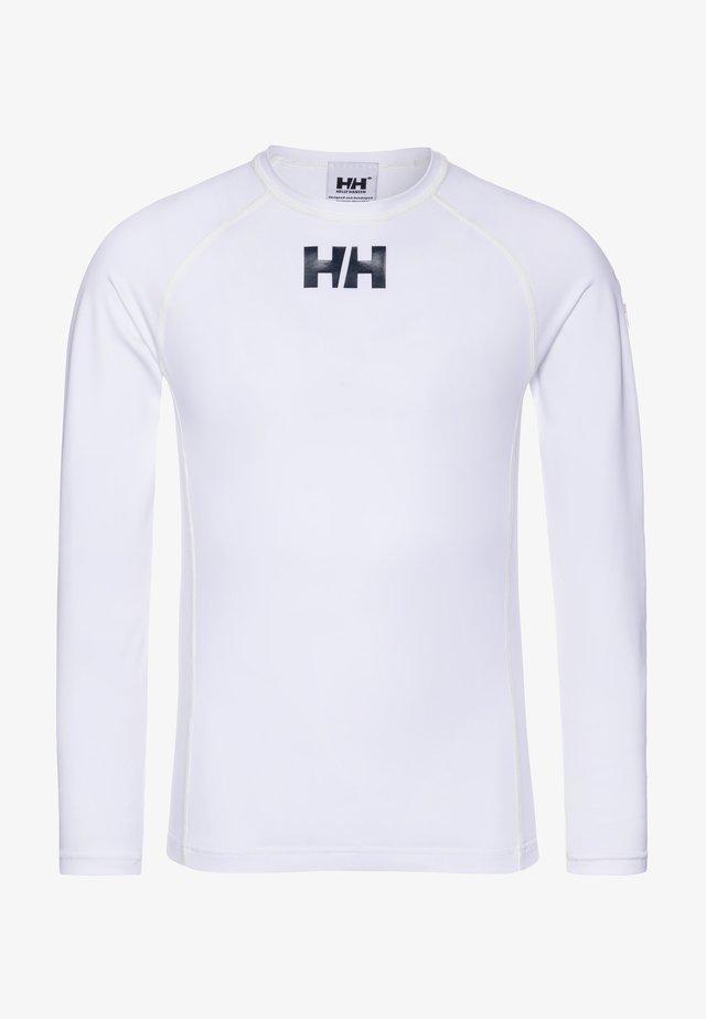 WATERWEAR RASHGUARD - Langærmede T-shirts - white