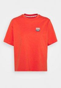 STEFFI TEE - Print T-shirt - light red