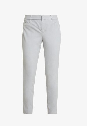 SLOAN BRUSHED SOLIDS - Trousers - light grey