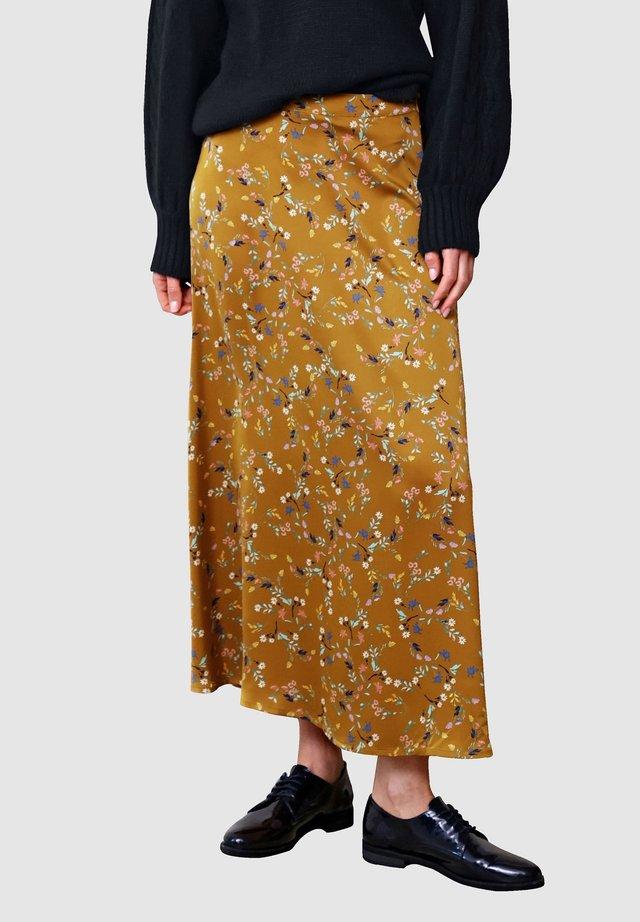 Maxi skirt - haselnuss
