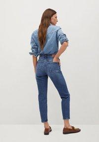 Mango - NEWMOM - Slim fit jeans - tmavě modrá - 2
