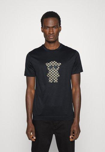 T-shirt z nadrukiem - nero