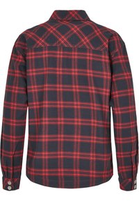 Urban Classics - OVERSIZED  - Button-down blouse - midnightnavy/red - 12