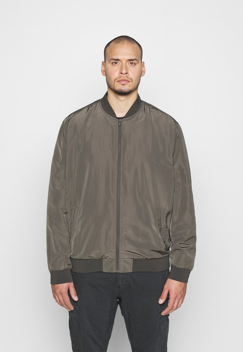 Burton Menswear London - BIG CORE - Giubbotto Bomber - khaki