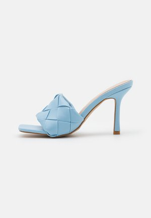 TIARA - Heeled mules - blue