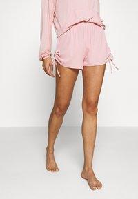 Marks & Spencer London - SHORT LOUNGE SHORT - Pyjamasbukse - pink - 0