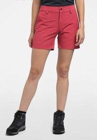 Haglöfs - AMFIBIOUS SHORTS - Outdoor shorts - brick red - 0