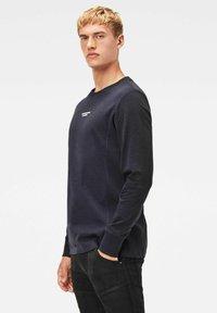 G-Star - MOTAC LOGO - Långärmad tröja - mazarine blue - 2