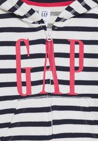 GAP - veste en sweat zippée - new off white - 2