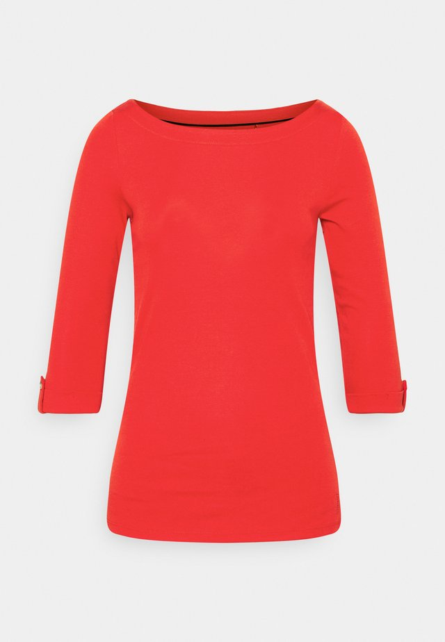 CORE - Long sleeved top - red