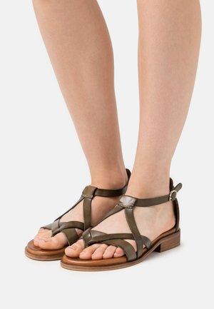 GITHA - Sandals - khaki
