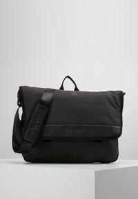 Bugatti - MESSENGER BAG - Across body bag - schwarz/grau - 0