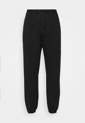PLUS SIZE 90S JOGGERS - Tracksuit bottoms - black