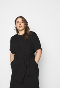Kaffe Curve - LOTA DRESS - Day dress - black - 3