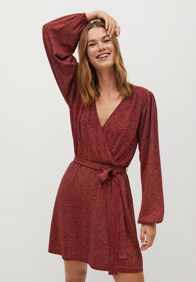 LINUS - Sukienka koktajlowa - rød