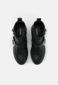 Even&Odd Wide Fit - Kovbojské/motorkářské boty - black - 5