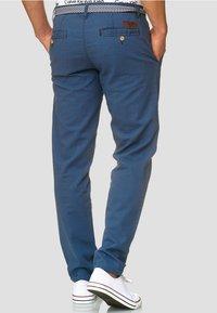 INDICODE JEANS - HAVER - Trousers - dark denim - 2