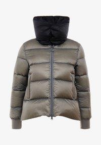 Cross Sportswear - A-SHAPE JACKET - Kurtka puchowa - steel grey - 3