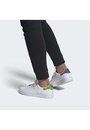 STAN SMITH - Sneakers laag - ftwwht/cblack/yellow