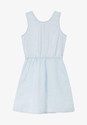 FASHION DENIM DRESS - Denim dress - bleached denim