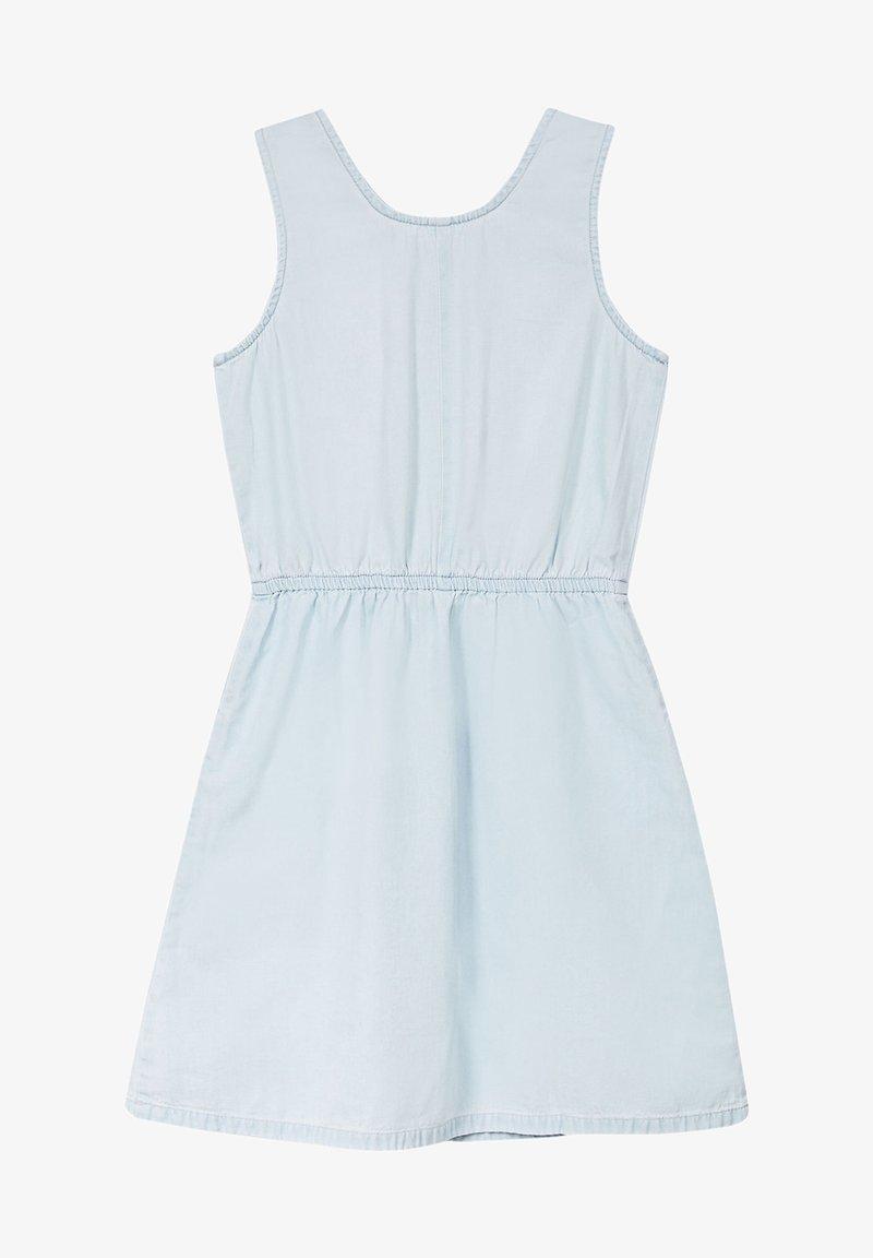 Esprit - FASHION DENIM DRESS - Denim dress - bleached denim