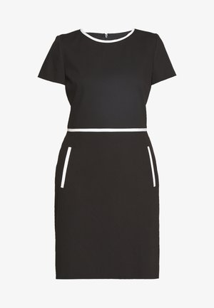 KIDANI - Shift dress - black