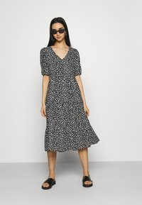 Even&Odd - Day dress - black_white - 1