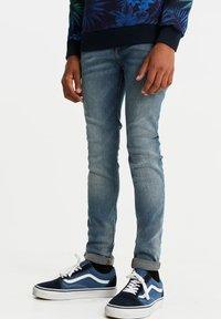 WE Fashion - Jeans Skinny Fit - light grey - 0