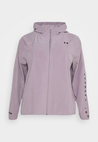Under Armour - HOODED JACKET - Běžecká bunda - slate purple