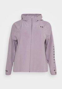 HOODED JACKET - Sports jacket - slate purple
