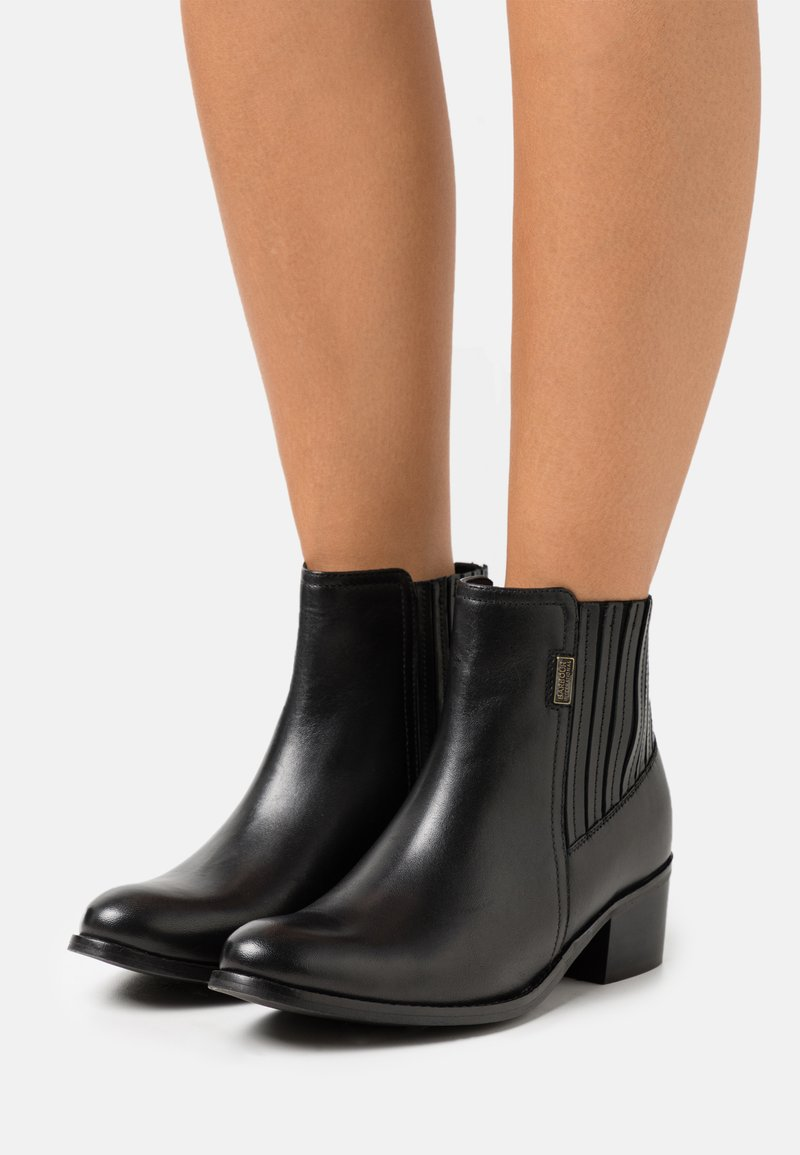 Barbour International - COMPTON - Classic ankle boots - black