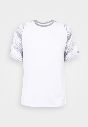 T-shirt print - brilliant white/frost gray