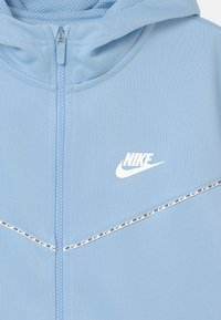 Nike Sportswear - REPEAT HOODIE - Trainingsvest - psychic blue/white - 2