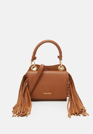 TILDA FRINGE BAG - Handbag - caramello