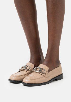 VEGAN ELSIIE - Nazouvací boty - beige