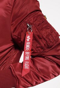 Alpha Industries - Kurtka Bomber - burgundy - 5