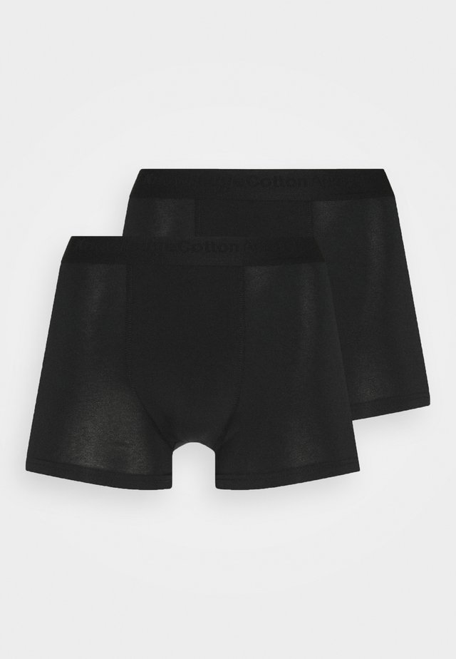 MAPLE UNDERWEAR 2 PACK - Panties - black jet