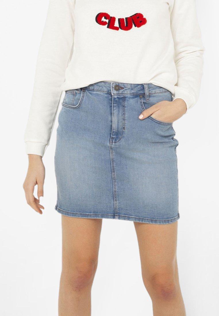 Femme Jupe en jean - blue