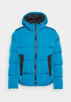 ROCHESTER OUTDOOR HOODED JACKET - Chaqueta de invierno - dark blue