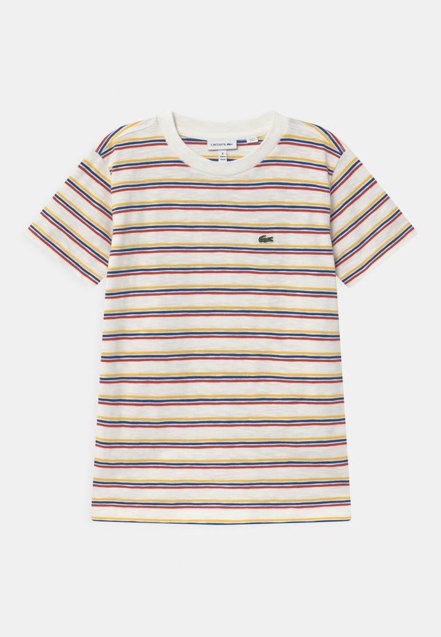 ROLLIS - T-shirt med print - white
