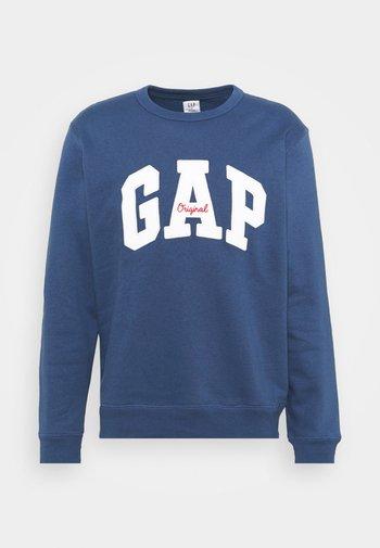 ORIGINAL ARCH CREW - Sweatshirt - blue shade