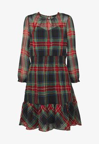 J.CREW - GLENDALE DRESS TARTAN - Day dress - black/multi - 5