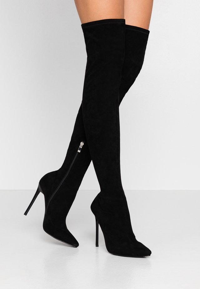 MAUREEN - High heeled boots - black